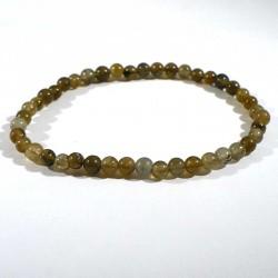 Bracelet en labradorite perles rondes 4mm