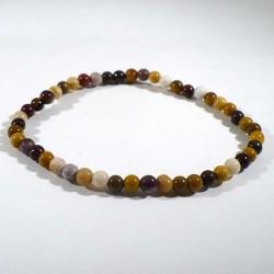 bracelet en mookaïte perles rondes 4mm