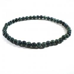 Bracelet en jaspe kambaba perles rondes 4mm