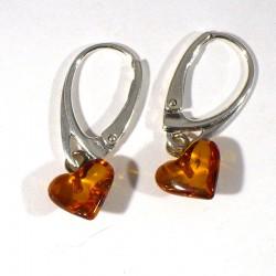 boucles d'oreilles cœurs en...
