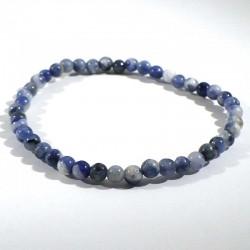 bracelet en sodalite boules 4mm