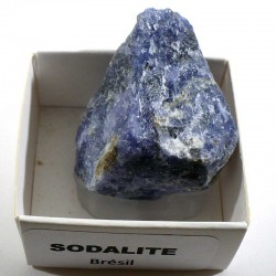 Sodalite du Brésil - boite de collection 4cm
