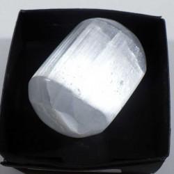Gypse fibreux du Maroc - boite de collection 4cm