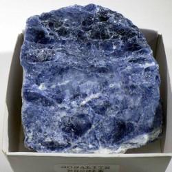Sodalite du Brésil - boite de collection 6cm
