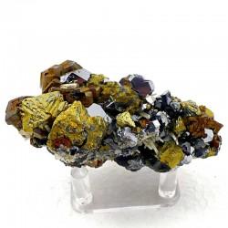 Chalcopyrite, Galène, Pyrrhotite de Russie