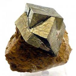 Pyrite maclée d'Espagne
