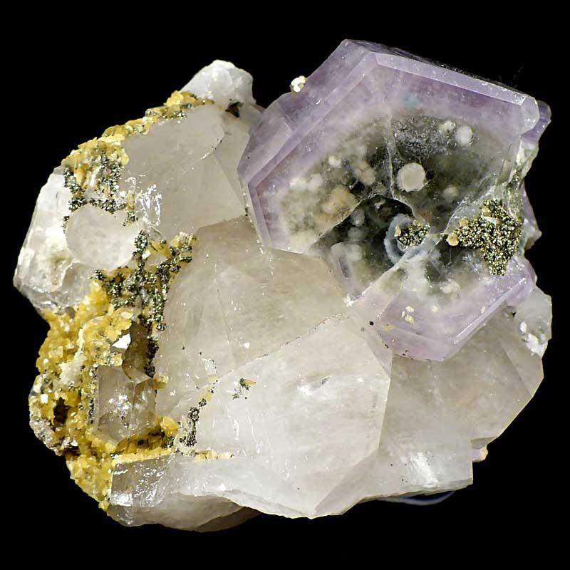 Apatite et quartz du Portugal