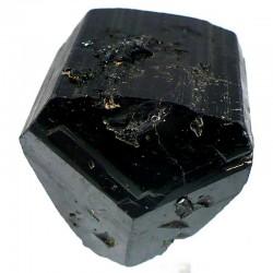 Tourmaline noire biterminée du Pakistan