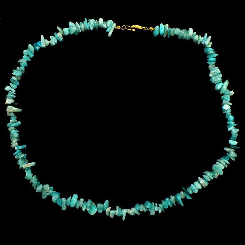 copy of collier baroque Amazonite
