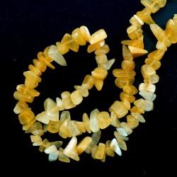 Collier baroque Calcite orange