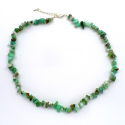 Collier baroque Chrysoprase