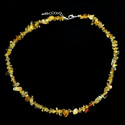 Collier baroque Citrine 42 cm