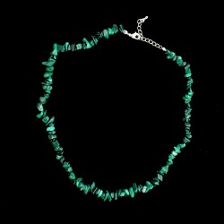 Collier baroque Malachite 42 cm