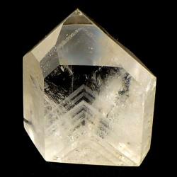 Pointe polie en Cristal fantôme