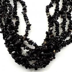 sautoir baroque en Onyx noir 90cm