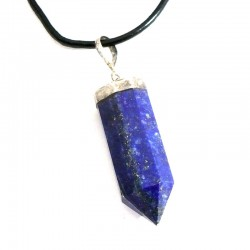 Pendentif en Lapis-Lazuli pointe 4cm
