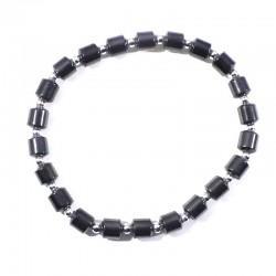 Bracelet Hématite tubes