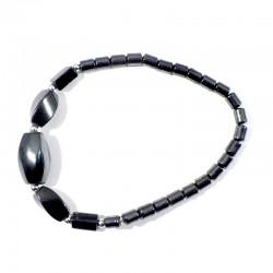 Bracelet Hématite perles twist