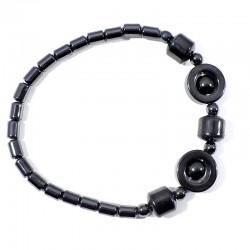 Bracelet Hématite cercles
