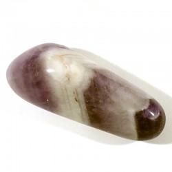 Améthyste zonée de Namibie - pierres roulées