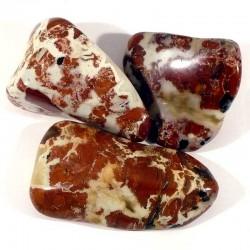 Jaspe bréchique de Madagascar - pierres roulées
