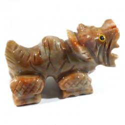 Dragon en stéatite du Pérou 4cm - animaux collection