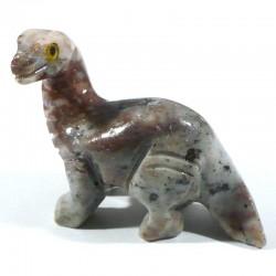 Brontosaure en stéatite du Pérou 4cm - animaux collection
