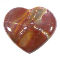 Coeur en bois fossile de Madagascar 4cm