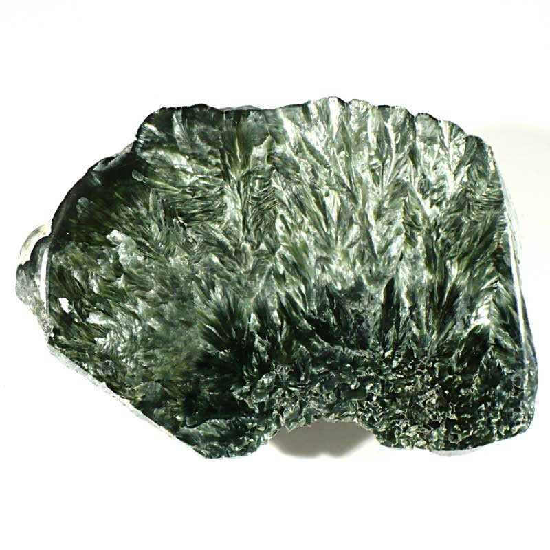Plaque de clinochlore séraphinite de Russie
