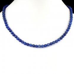 Collier boule en Lapis-Lazuli extra 42cm