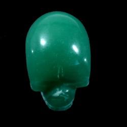 crâne sculpté en aventurine du Brésil 3cm