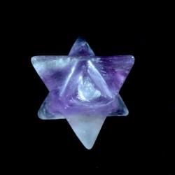 étoile merkaba en améthyste...