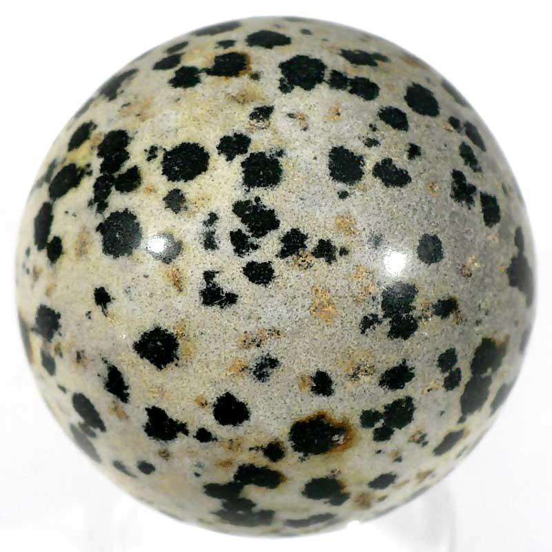 Boule en jaspe dalmatien 4cm