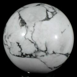 Boule en howlite - magnésite 5cm