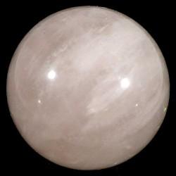 boule en quartz rose 3cm