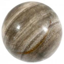 boule en bois fossile 3cm