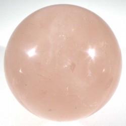 Boule en quartz rose de Madagascar 6cm