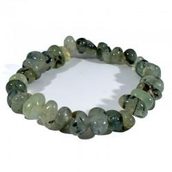 bracelet en prehnite graines