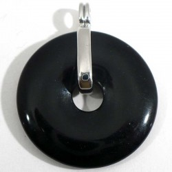 Support porte donuts metal argenté 3cm