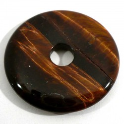 Pendentif donuts en oeil de taureau qualité extra 3cm