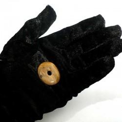 Pendentif donuts en bois fossile 3cm
