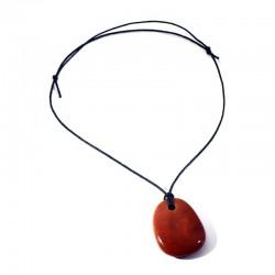 Cordon en coton ciré noir pour pendentifs