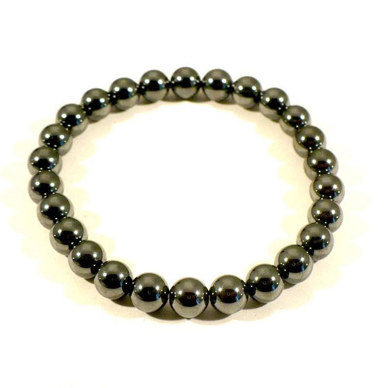 bracelet perle hematite