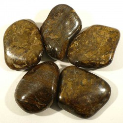 Bronzite du Brésil - pierres roulées