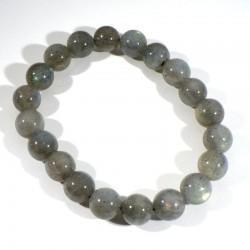 Bracelet en Labradorite perles rondes 10mm