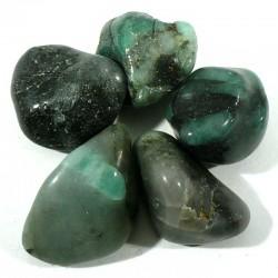 Emeraude du Brésil - pierres roulées