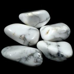 Howlite du Zimbabwe - pierres roulées