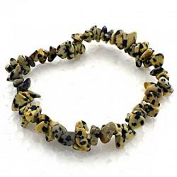 Bracelet baroque Jaspe dalmatien