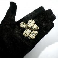jaspe dalmatien du Mexique - pierres roulées