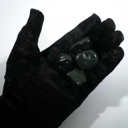 Obsidienne oeil celeste du Mexique - pierres roulées